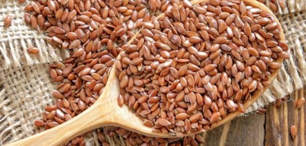 ما فوائد بذرة الكتان للتنحيف