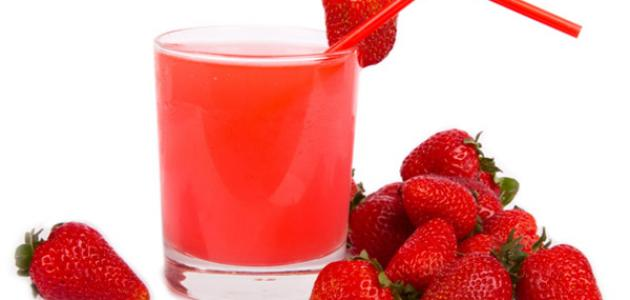 ما فوائد عصير الفراولة