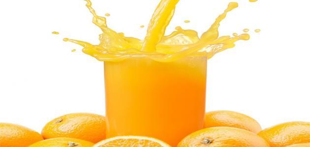 كيفية عمل عصير البرتقال الطازج