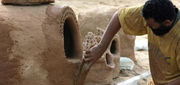 كيف تصنع فرن الطين