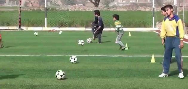 تمارين كرة القدم للناشئين