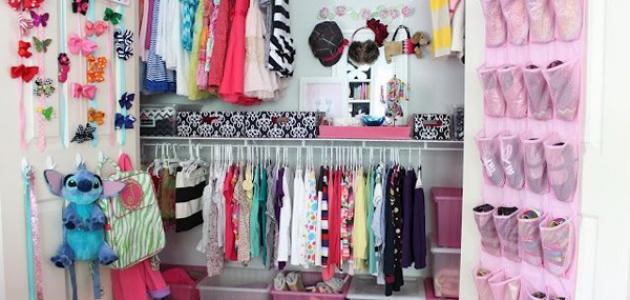 خزانة ملابس كرتون