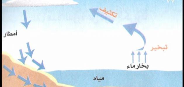 مفهوم دورة الماء