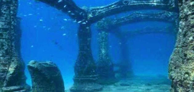 مدن تحت الماء