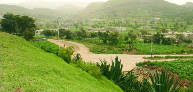 مدينة إب الخضراء