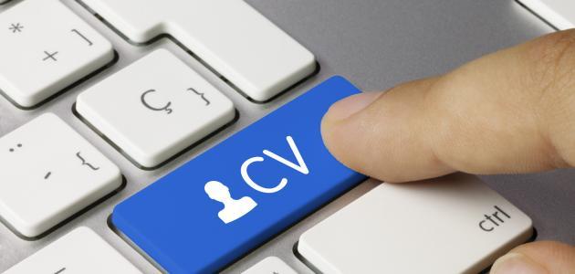 كيف يمكن كتابة cv