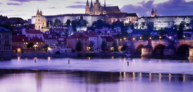 مدينة براغ عاصمة التشيك