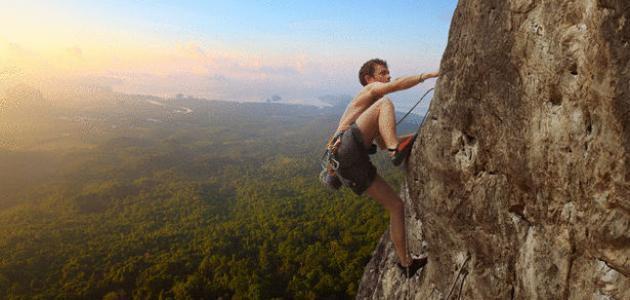 متى ظهرت رياضة تسلق الجبال