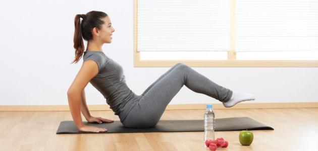 أسرع طريقة لحرق الدهون في الجسم