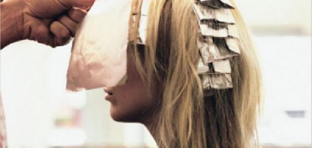كيفية عمل صبغة الشعر