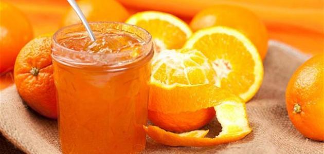 صنع مربى البرتقال