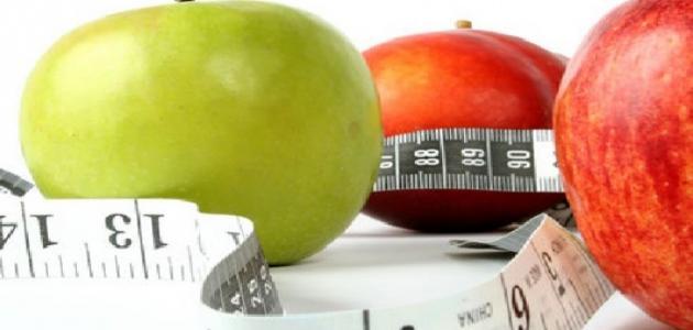 حساب عدد السعرات الحرارية التي يحتاجها الجسم