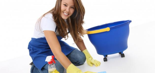 طرق سهلة لتنظيف المنزل