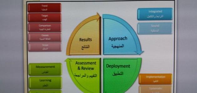 معايير تقييم الأداء المؤسسي