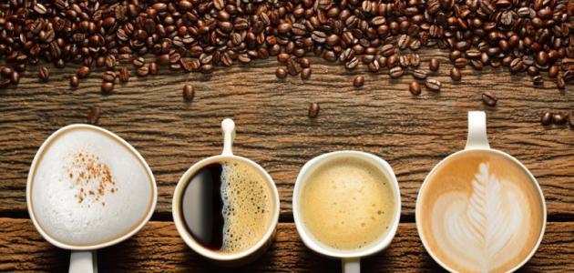 صنع القهوة