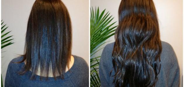 طرق إطالة الشعر بسرعة