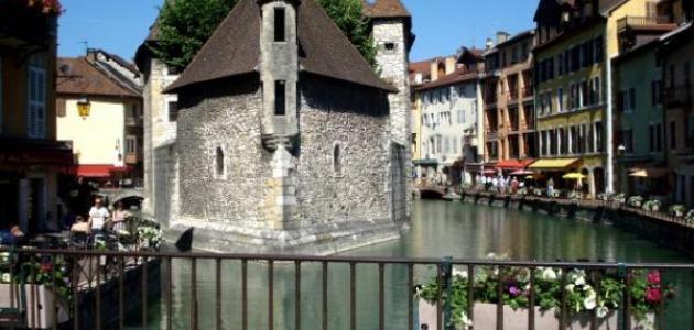مدينة آنسي في فرنسا
