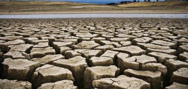 موضوع حول ظاهرة الجفاف في المغرب