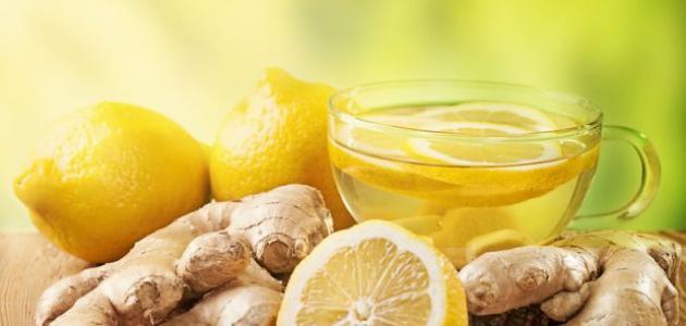 طريقة الزنجبيل والليمون للتنحيف