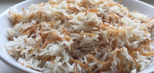 طريقة الأرز بالشعرية