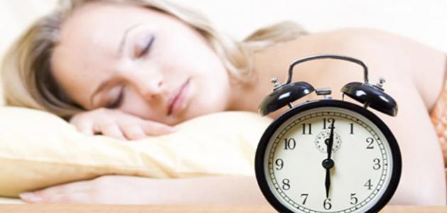 طريقة تنظيم النوم