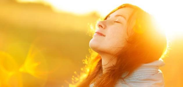 بعض فوائد الشمس