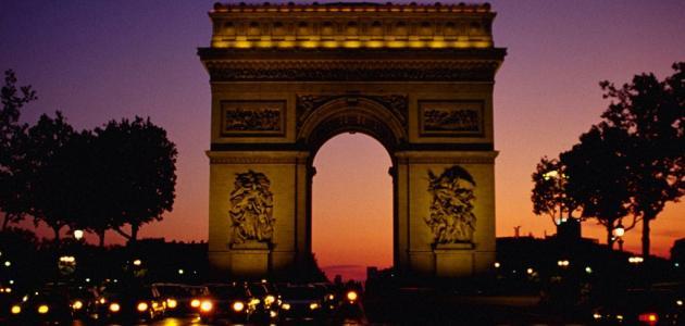 موضوع عن مدينة باريس