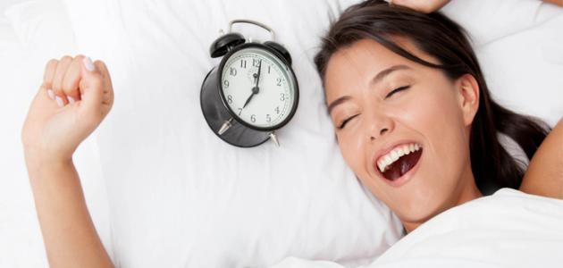 بعض فوائد النوم المبكر