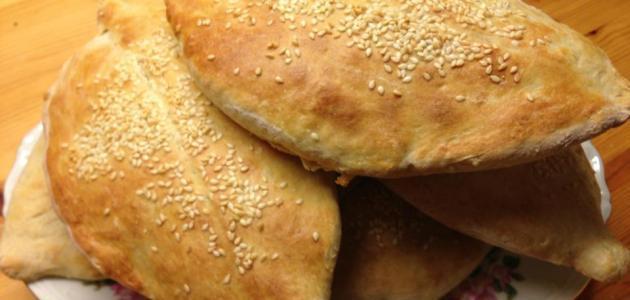 طريقة الخبز المفروك