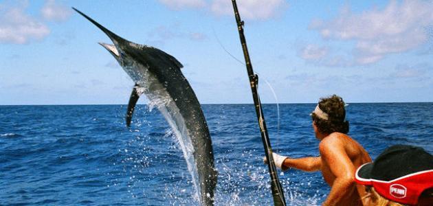 طرق الصيد البحري