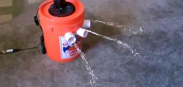 كيفية عمل مبرد الهواء