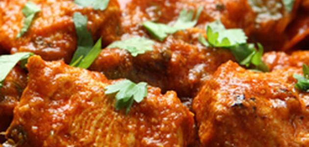 طريقة الدجاج الهندي