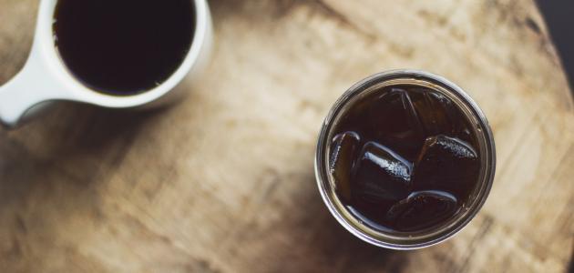طريقة عمل قهوة مثلجة