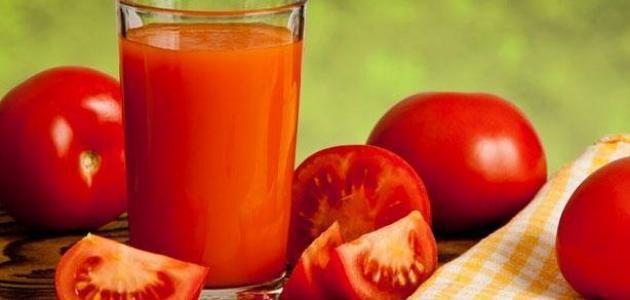 طريقة عمل عصير الطماطم للتخسيس