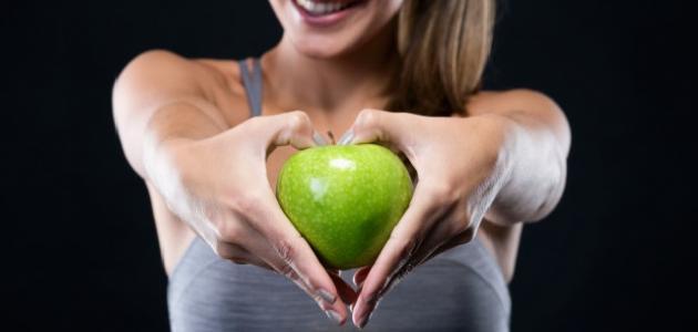 بعض فوائد التفاح الأخضر