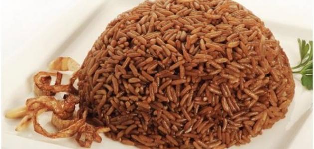 عمل أرز الصيادية