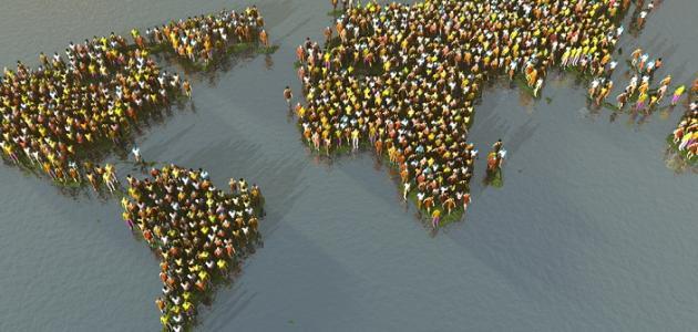 عدد سكان قارة أوروبا