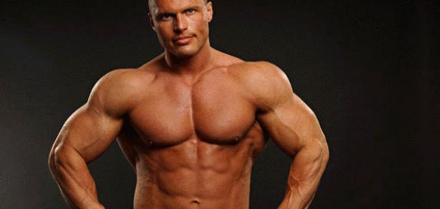 كيف أبني عضلات بسرعة