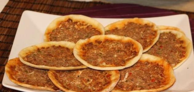 طريقة عمل عجينة اللحم بعجين اللبناني