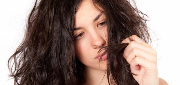 طريقة معالجة الشعر التالف