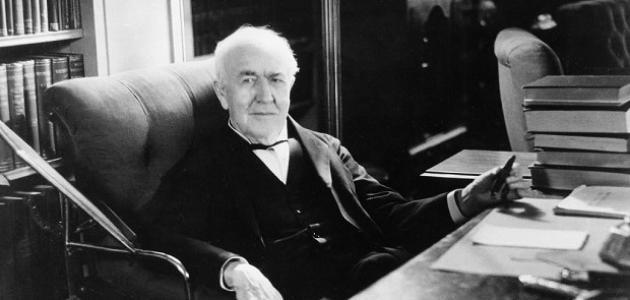 كم عدد اختراعات توماس أديسون