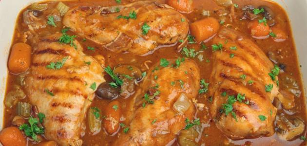 عمل صالونة الدجاج