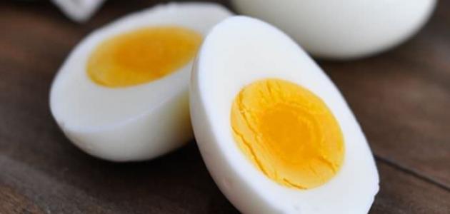 طرق سلق البيض