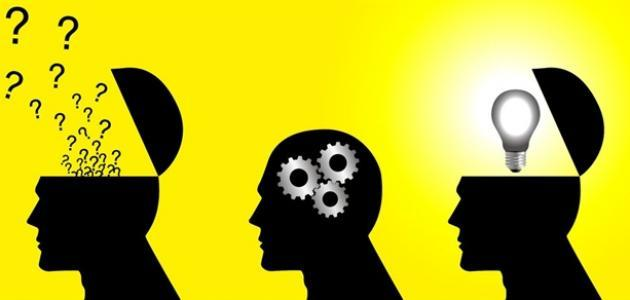 ما معنى الفكر