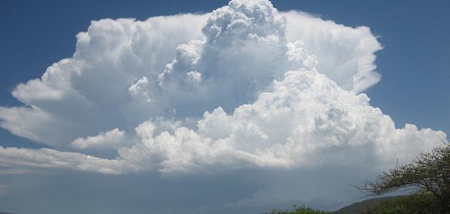 كيف تتكون الغيوم