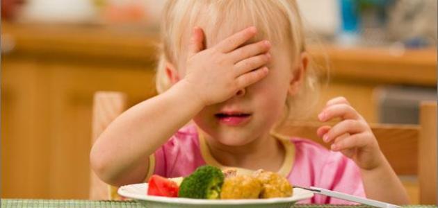 فقدان الشهية لدى الأطفال