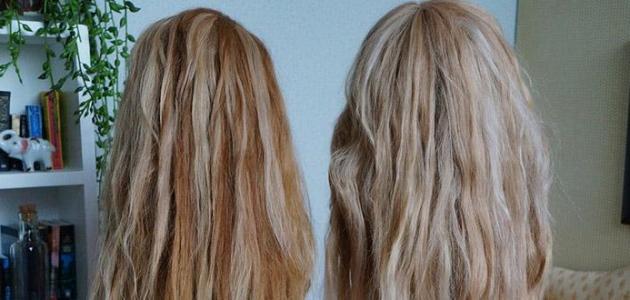 طرق طبيعية لفرد الشعر المجعد
