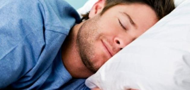 الشخصية من طريقة النوم