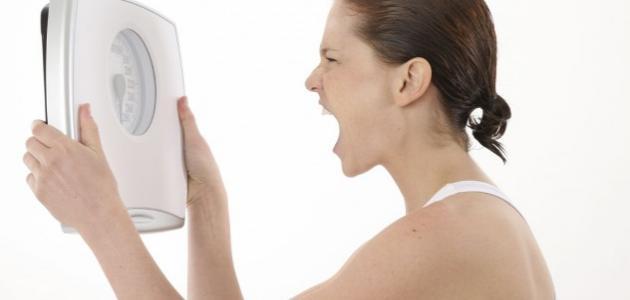سبب عدم نزول الوزن مع الرجيم