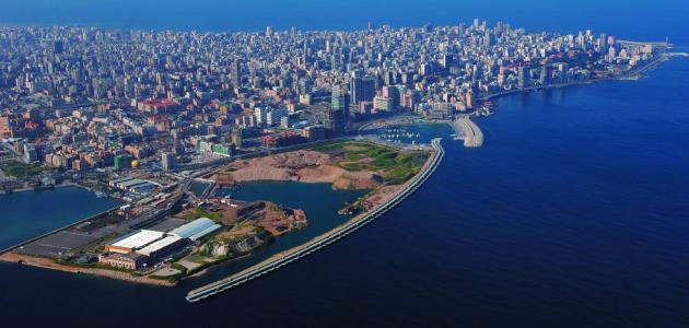 مساحة دولة لبنان